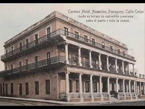 Asunción del Paraguay Calle Antigua y Calle Actual