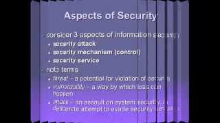 Cryptography and Network Security Tutorial HD