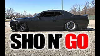 Heavily Modified Challenger R/T is FAST & Loud...