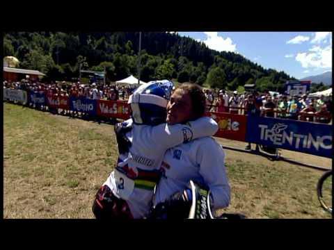 Downhill Val di Sole@2010 UCI Mountain Bike World.mpg