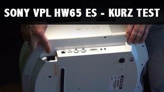 видео Обзор Sony VPL-HW65ES