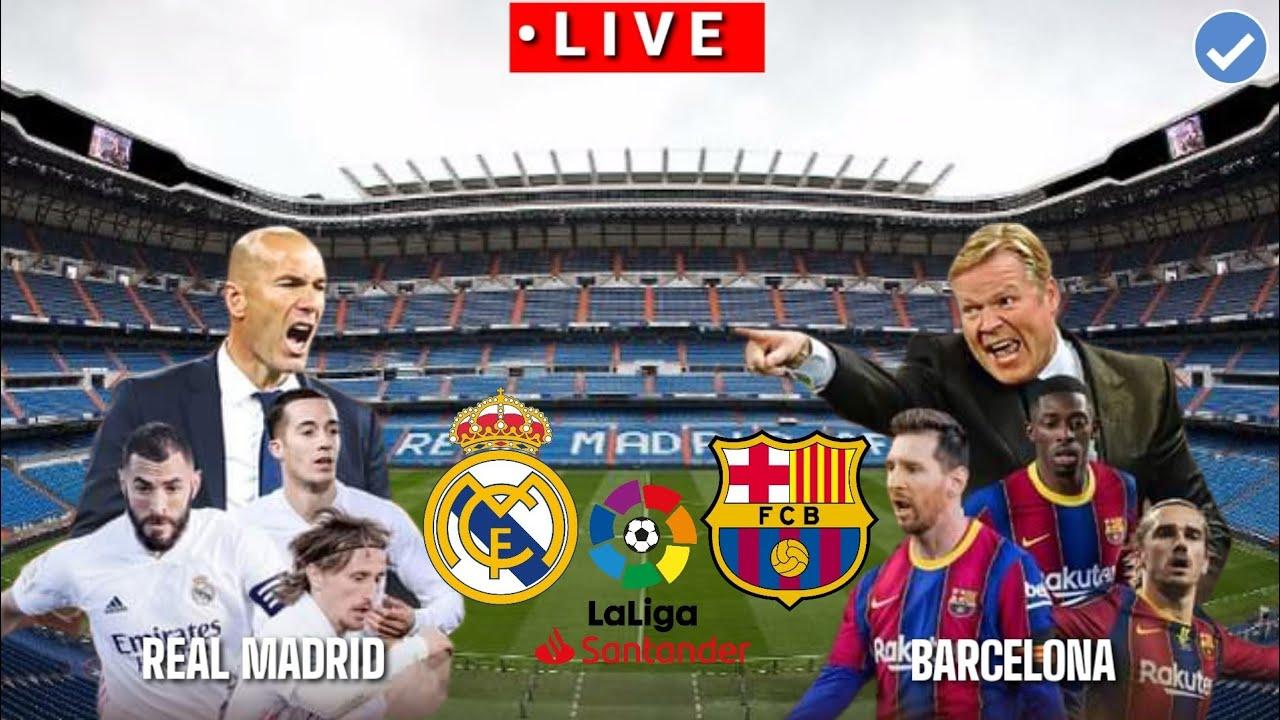 🔴 [Trực Tiếp] Real Madrid vs Barcelona La liga  2020/2021  Pes17