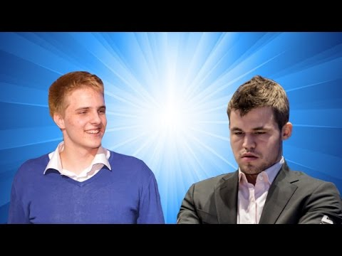 Richárd Rapport vs Magnus Carlsen   2017 Tata Steel Chess Tournament