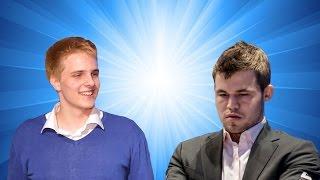 richrd rapport vs magnus carlsen   2017 tata steel chess tournament