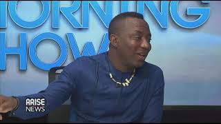 Omoyele Sowore speaks on life after the Presidential Race