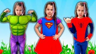 Sarah dresses like Superhero and save friends