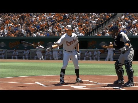 MLB The Show 17 - New York Yankees vs Baltimore Orioles | Gameplay (PS4 Pro HD) [1080p60FPS]