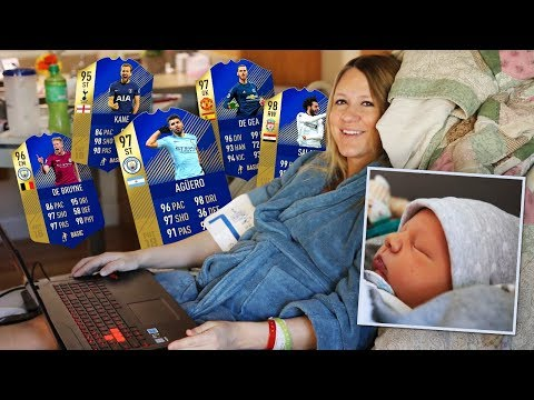 FIFA 18 HOSPITAL TOTS PACK OPENING AFTER LABOR!
