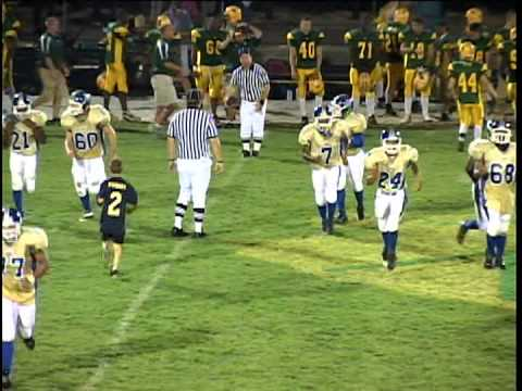 """Bloom Township Gold Jerseys/Charles """"Chuck"""" Giles #77 Right Guard(RG) Defensive Tackle(DT)"""
