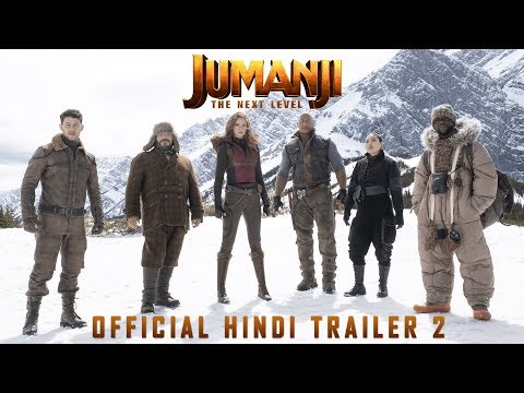 Jumanji: The Next Level - Official Hindi Trailer 2