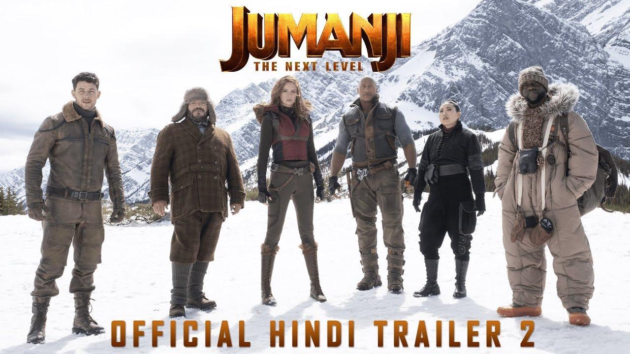 Jumanji The Next Level Official Hindi Trailer 2 Dwayne Johnson Kevin Hart In Cinemas Dec 13 Youtube