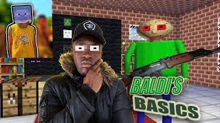 Monster School : BALDI'S BASICS AND BIG SHAQ BECOME TEACHER - Minecraft Animation