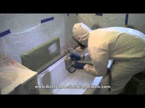 Bathtub Refinishing Seattle WA   Tub Reglazing Resurfacing Repair