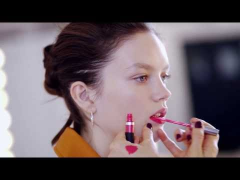 Hannah Murray Beauty Tutorial: The PVC Lip