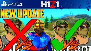 H1Z1 PS4 Combat NOT Getting Nerfed? Skill Matchmaking! H1Z1 PS4 UPDATE NEWS