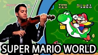 SUPER MARIO WORLD - Overworld Theme (Violin / Violino)