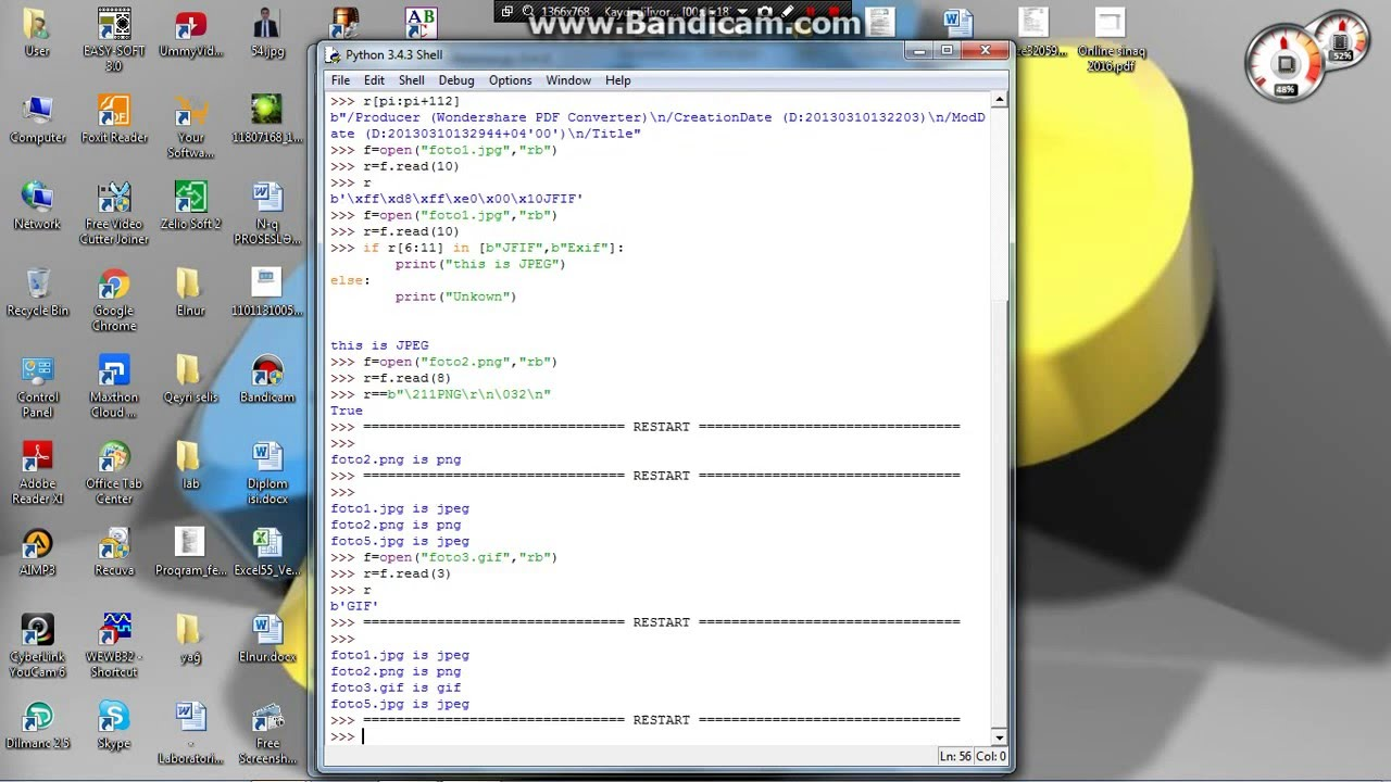 how to create binary file in python