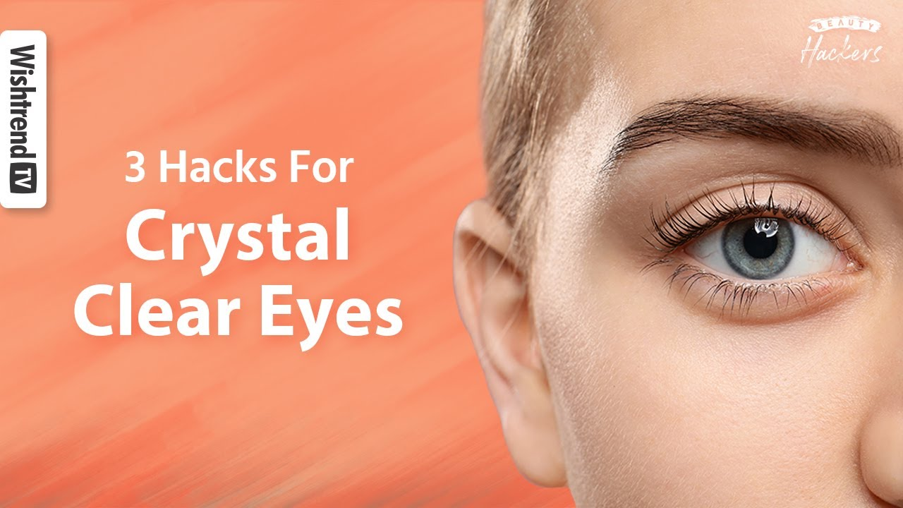3 Hacks For Clear White In The Eyes L Sparkling White Eyes Diy Heated Eye Pads Youtube