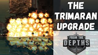 From The Depths - The Trimaran Upgrade - #22 Thumb