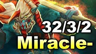 Miracle- 9500 MMR Huskar - 32 kills/24 Min vs N0tail Fn DOTA 2