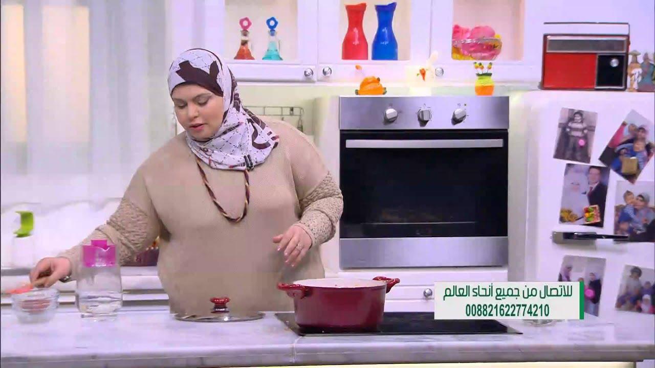 دجاج محمر مع البصل والسماق - ارز بالحمص والبصل الاحمر :  على قد الأيد حلقة كاملة