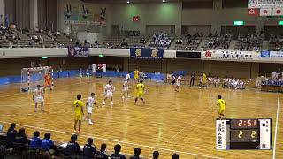 9日 ハンドボール男子 あづま総合体育館 Aコート 法政二×北陸 準決勝 1