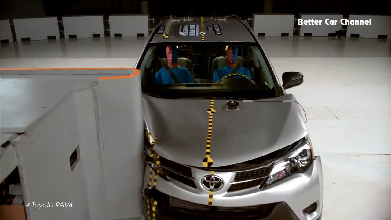 Crash Test 2016 Toyota Rav4 Vs Subaru Forester