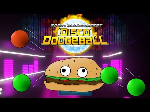Lets Try Games - ROBOT ROLLER-DERBY DISCO DODGEBALL  