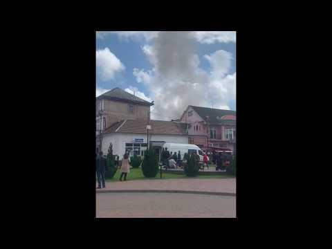 Рятувальник, який поставив «крапку» на пожежі -дух перехоплює