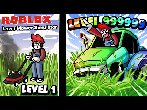 Roblox : 🚜 Lawn Mower Simulator จำลองการตัดหญ้า ขั้นสุดยอด !!!