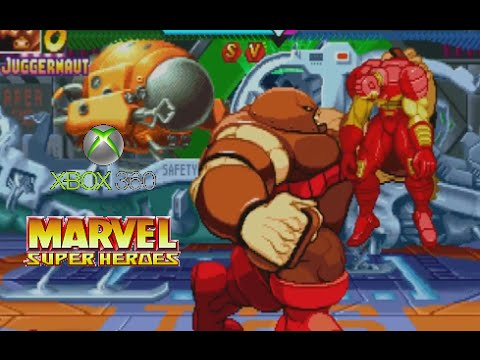 Marvel Super Heroes playthrough (Xbox 360)