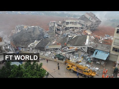 Landslide in Chinese city of Shenzhen | FT World