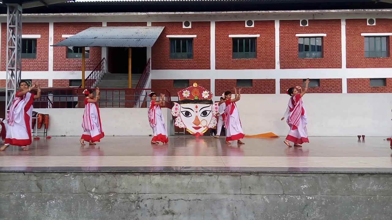 Durga Pooja (Navratri Special)-Vision Valley School, Kashipur