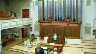 Hugo Distler Partita (PART 1) on A.E.Schlueter organ by Josiah Armes, Organist