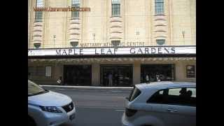 Maple Leaf Gardens - Carlton St, Toronto 19 June 2013 - youtube.com/tanvideo11