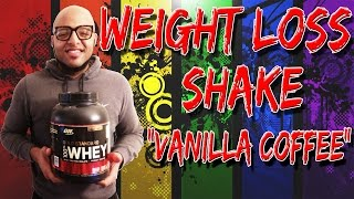 Weight Loss Shake Recipe: Vanilla Coffee