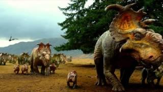 Pelicula caminando con dinosaurios