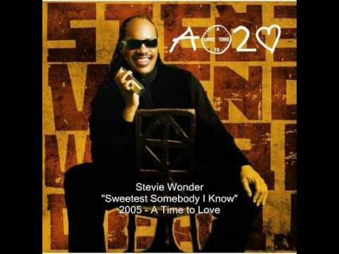Stevie Wonder - Sweetest Somebody I Know