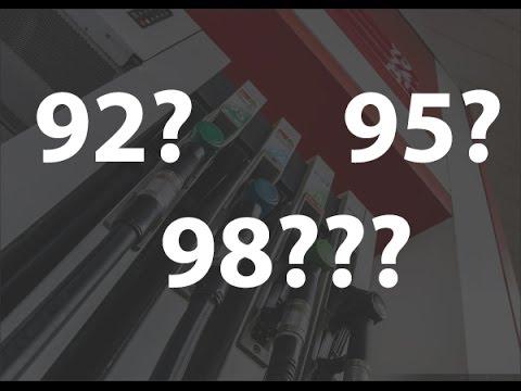 Какой бензин заливать 92, 95 или 98 + спирт? Часть 2.