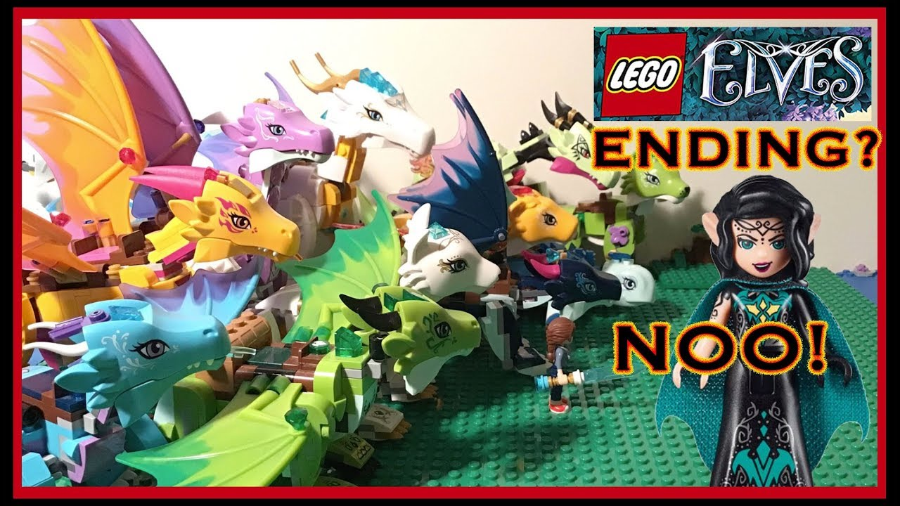 Save the Elves! Where are Lego Elves 2019?