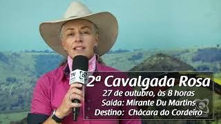 Organização convida para a 2ª Cavalgada Rosa em Botucatu