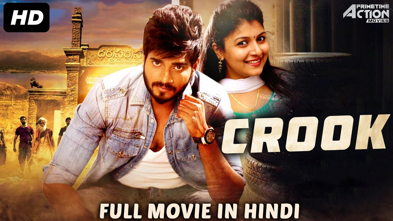 Download CROOK - Hindi Dubbed Full Action Romantic Movie | South Indian Movies Dubbed In Hindi Full Movie