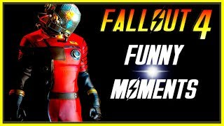FALLOUT 4 FUNNY MOMENTS - EP 12 (FO4 Funny Moments, Mods, Fails, Kills, Fallout 4 Funtage)