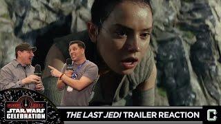 Star Wars: The Last Jedi Teaser Trailer Reaction - Live from Star Wars Celebration Orlando 2017