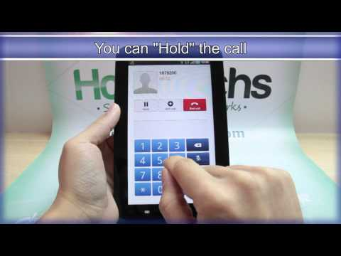 How to Make phone calls from the Samsung Galaxy Tab « Tablets