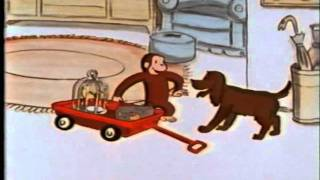 Curious George Walks the Pets (Old Cartoon 1980s)