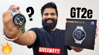 Huawei Watch GT2e Unboxing & First Look - Best Smartwatch For Fitness ⌚️??? Giveaway