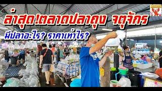 ล่าสุด!ตลาดปลาถุง จตุจักร  มีปลาอะไร? ราคาเท่าไร?  (9กันยายน 2563)