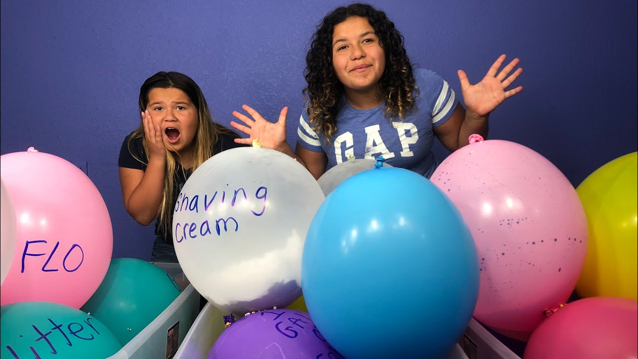 Slime Mary Izzy: Making Slime With Giant Balloons! Giant Slime Balloon