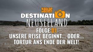 DESTINATION NEUSEELAND 🥝 01 🇳🇿 DIE REISE ✈️ BEGINNT 📷 Krolop&Gerst